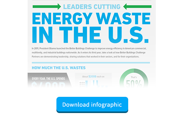 Energy Waste Infographic for Clean Tech Marketers