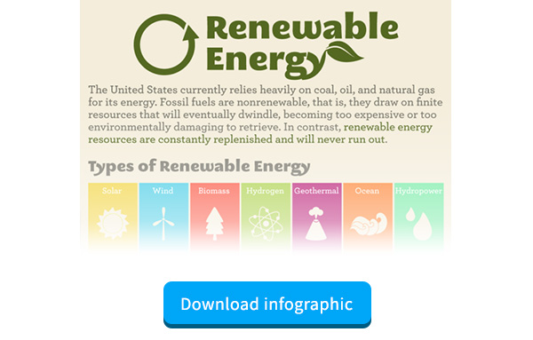 Renewable Energy Infographic for Clean Tech Marketers