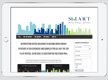 Smart Office Energy Solutions website